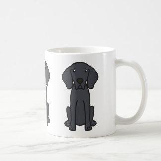 Weimaraner HundeCartoon Kaffeetasse