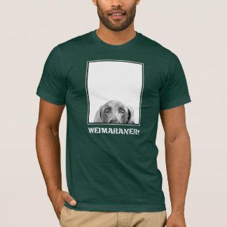 Weimaraner Nation: Weimaraner in einem Kasten! T-Shirt