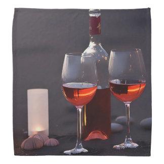 Wein am Strand Kopftuch