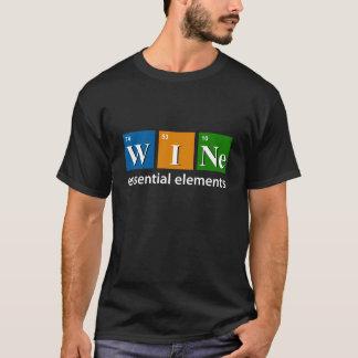 """""""Wein: Der T - Shirt der wesentliche Element-"""""""