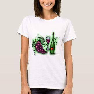Wein der Trauben-n T-Shirt