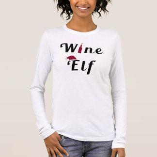 Wein-Elf Langarm T-Shirt