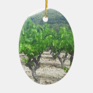 Wein-Entwurf Keramik Ornament