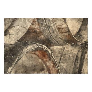 Wein-Fässer Holzwanddeko