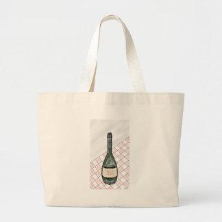 Wein-Flasche Jumbo Stoffbeutel