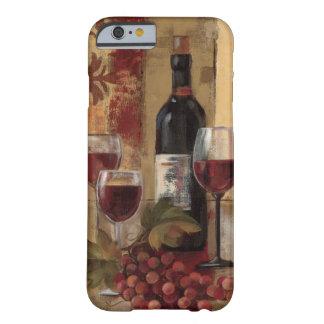 Wein-Flasche und Wein-Gläser Barely There iPhone 6 Hülle