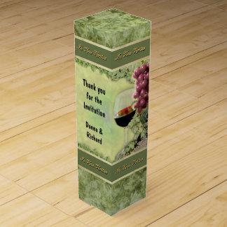 Wein-Geschenkboxen mit Ihrem eigenen Text Weinbox