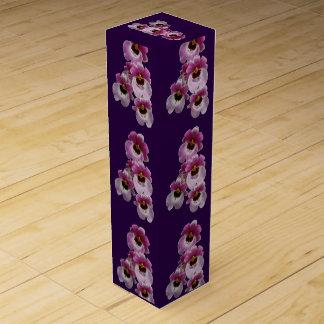 Wein-Geschenkboxen - Pansy-Orchidee Wein-Geschenkverpackung