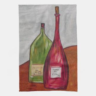 Wein-Geschirrtuch! Geschirrtuch