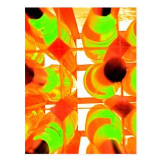 Wein-Gestell (2) Postkarte