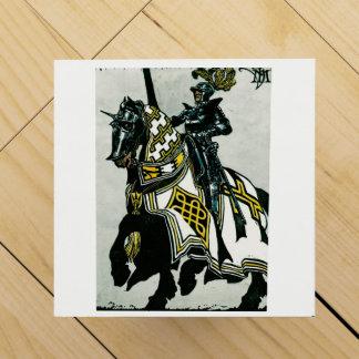 Wein giftbox mit Bild des Ritters zu Pferd Wein-Geschenkverpackung