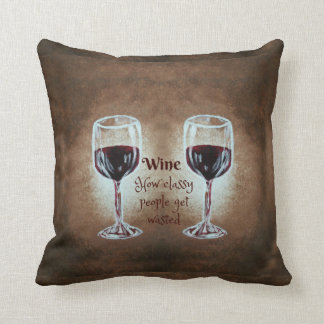 Wein-Glas-Kissen Kissen