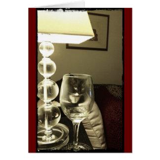 Wein-Glas Lucy Karte