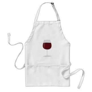 Wein-Glas Schürze