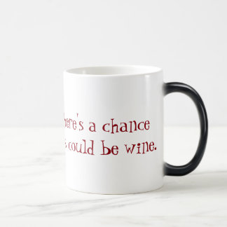 Wein in meiner Kaffeetasse