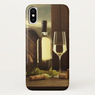 Wein iPhone X Hülle