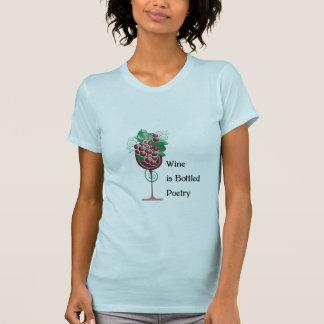 Wein ist abgefüllte Poesie T-Shirt
