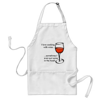Wein-Koch! Schürze