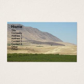 Wein-Land-LandschaftsFoto-Geschäfts-Karte Visitenkarte