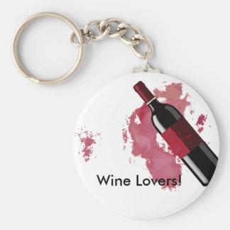 Wein-Liebhaber Keychain Schlüsselanhänger
