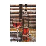 Wein-Liebhaber-Leinwand Galerie Falt Leinwand