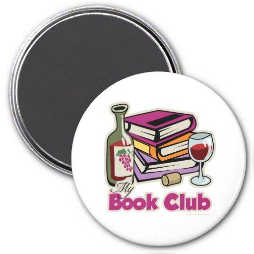 Wein: Meine Buchgemeinschaft Kühlschrankmagnet