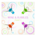 Wein-Party Einladung