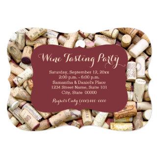 Wein-Probieren-Party Einladungen