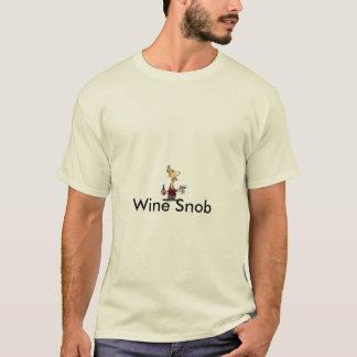 Wein-Snob-T - Shirt