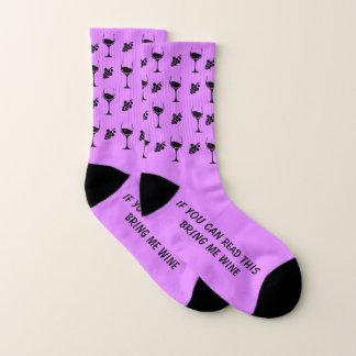 Wein-Socken Socken