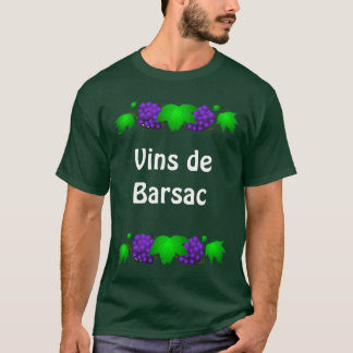 Wein-T-Shirt - Vin de Barsac T-Shirt