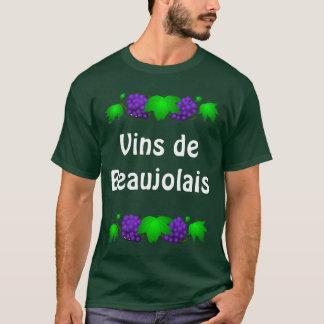 Wein-T-Shirt - Vin de Beaujolais T-Shirt