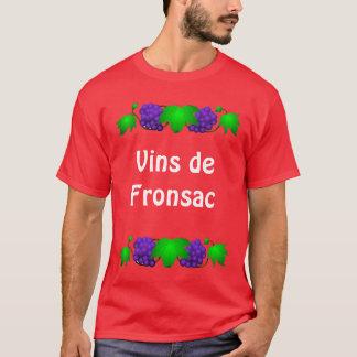 Wein-T-Shirt - Vin de Fronsac T-Shirt