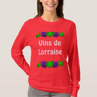 Wein-T-Shirt - Vin De Lothringen T-Shirt