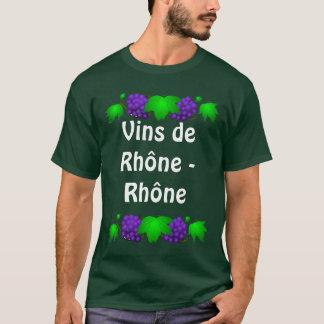 Wein-T-Shirt - Vin de Rhône - Rhône T-Shirt