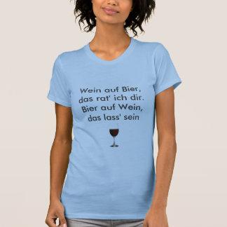 Wein t T-Shirt
