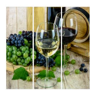 Wein Triptychon