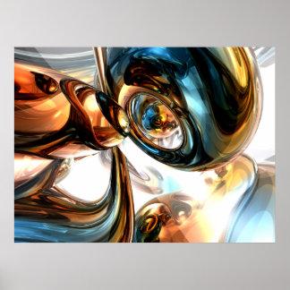 Wein und Geist-abstraktes Plakat
