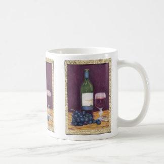 Wein-und Trauben-Kunst-Geschenke Kaffeetasse