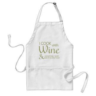 Wein-Zitat-Schürze Schürze