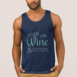 Wein-Zitat-Shirts u. -jacken Tank Top