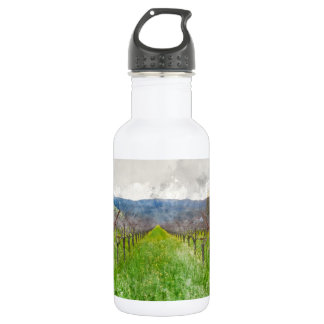 Weinberg in Napa Valley Kalifornien Trinkflasche