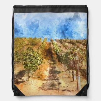 Weinberg in Napa Valley Kalifornien Turnbeutel