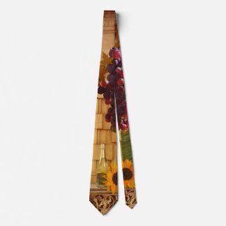 Weinberg-oder Wein-Thema-Krawatte Individuelle Krawatten