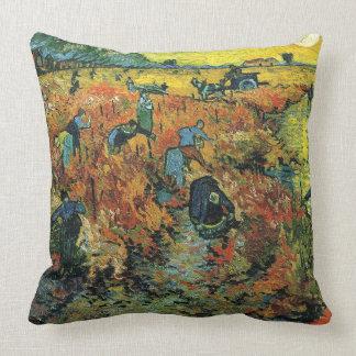 Weinberg Vincents van Gogh-The Red bei Arles Kissen