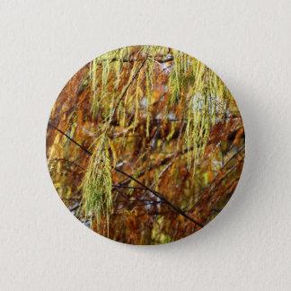 Weinende Herbst-Pracht Runder Button 5,1 Cm