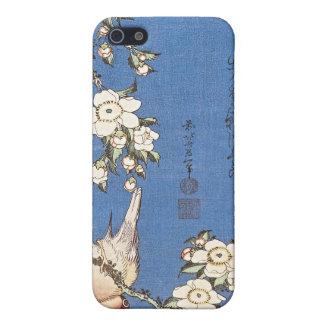 Weinende Kirsche und Bullfinch durch Hokusai Etui Fürs iPhone 5