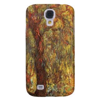 Weinende Weide, Vintager Impressionismus Claudes Galaxy S4 Hülle