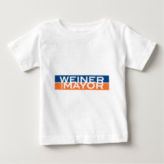 Weiner für Bürgermeister Baby T-shirt