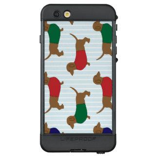 Weiner Hunde, die Shirts tragen LifeProof NÜÜD iPhone 6s Plus Hülle